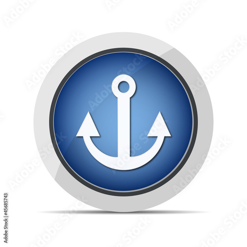 anchor web blue button