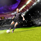 Fototapety football game