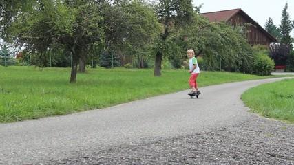Waveboarder beim uphill