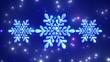Detaily fotografie Snowflakes.