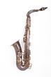 Leinwandbild Motiv antikes Saxophon