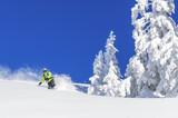 Fototapeta wyjazd - wiejski - Sporty Zimowe