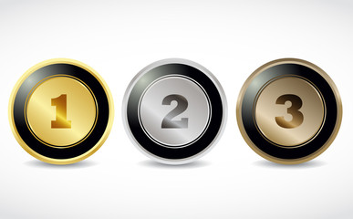 1 2 3 brilliant button numbers