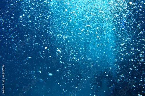 canvas print picture Bubbles