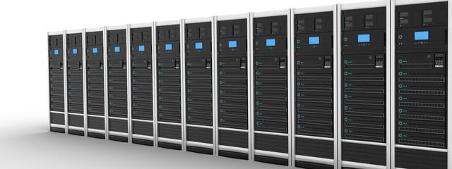Row modern server
