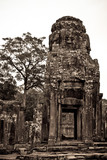One of the Bayon Temple, Angkor Thom, Siem Reap, Cambodia