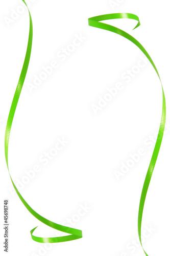 Green ribbon frame