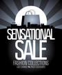 Sensational sale design template.