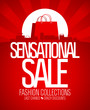Sensational sale design template.