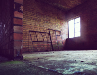 empty abandoned room
