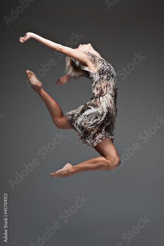 modern style dancing girl - 45704153