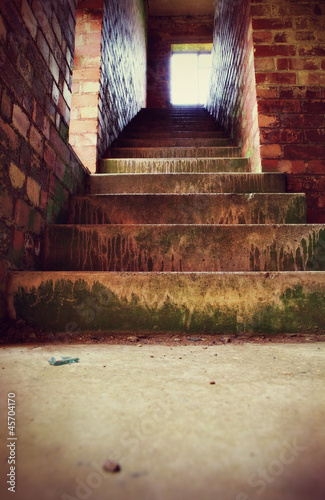 grunge stairs