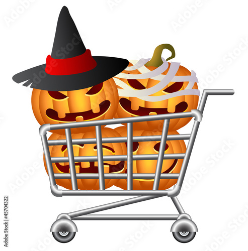 Halloween Shoppingcart