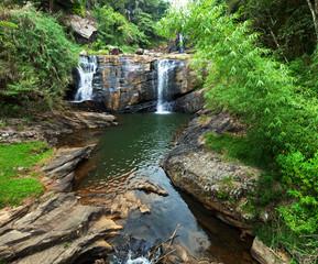 Waterfall on Sri Lanka