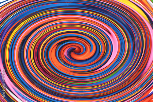 Colored spiral, abstract background