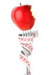 Pomme rouge - fourchette