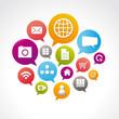 cloud, réseau social