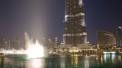 Dubai Fontain 4K Timelapse