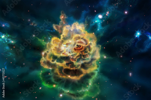 Molecular cloud