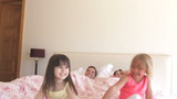 Parents Being Woken Up In Bed By Two Daughter