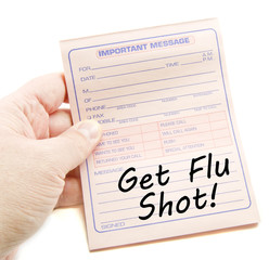 Important Message Get Flu Shot