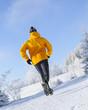kaltes Wetter zum Laufen
