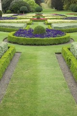 Ornate garden in the grounds of a country house