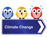 Representation of climate change poster