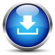 Download Button Blau