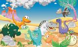 Little Prehistoric Dinasaurs