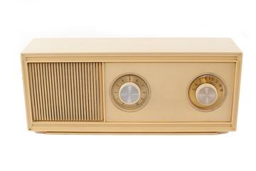 beige radio