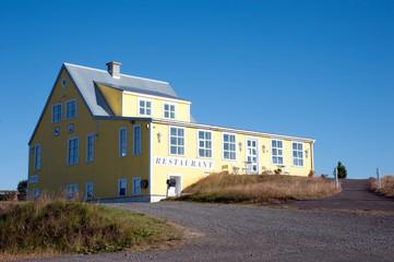 Island - Der Nordosten - Gasthaus am Wasserfall Godafoss