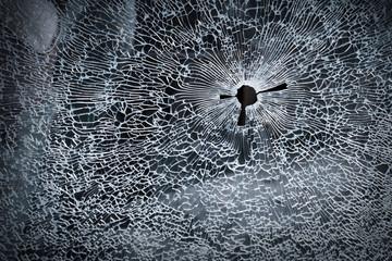 Broken glass background texture
