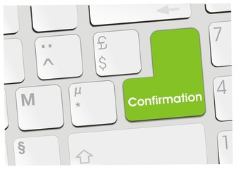 clavier confirmation