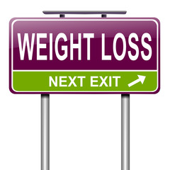 Weight loss concept.