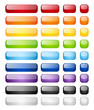 Rainbow buttons set