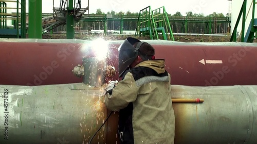 Manual Metal Arc welding.