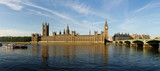 The House of Parliament and the Clock Tower in London