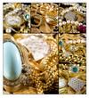 Fototapete Wohlstand - Gold - Schmuck