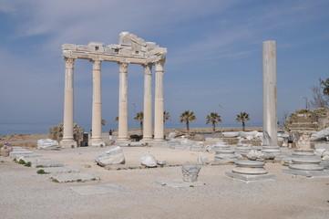 Apollon-Tempel bei Side, Türkei