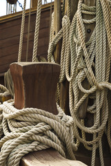 Rigging of sailing vessel