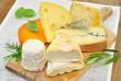 Camembert, Gouda