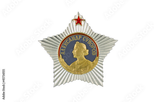 Order of Suvorov I degree .