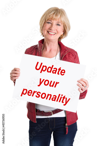 Update your personality! Senior life