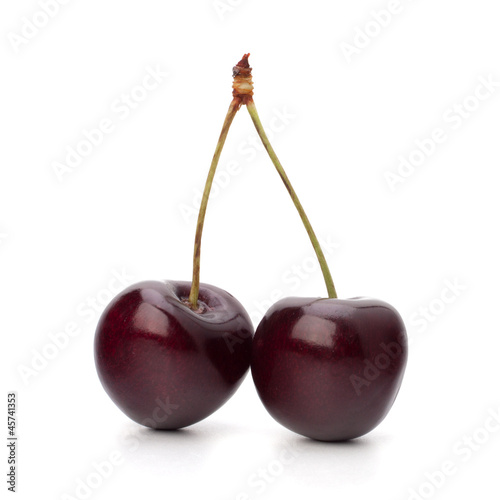 Two cherry berries