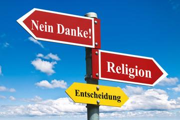 Religion? Nein Danke!