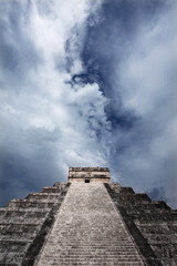 Maya Pyramid, Chichen Itza, Mexico