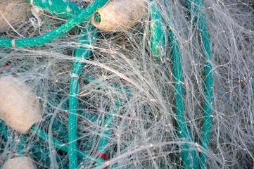 Sieć rybacka - zbliżenie