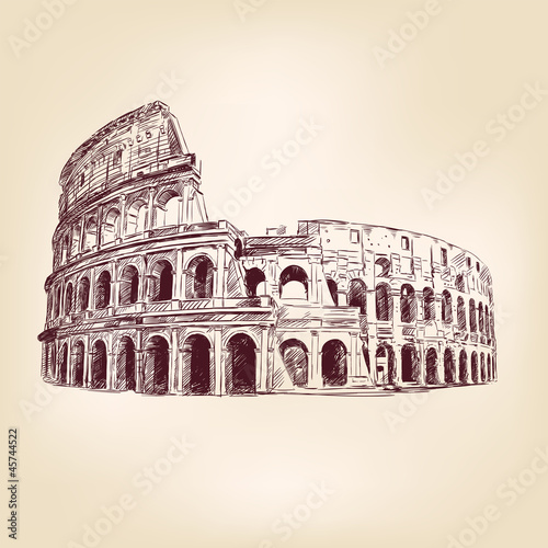 Coliseum   - hand drawn