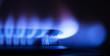 Leinwandbild Motiv gas flame part